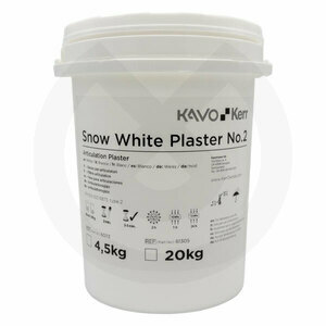 Product - YESO SNOW WHITE PLASTER EXTRABLANCO TIPO II/2 - 4,5KG