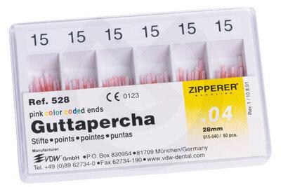 Product - GUTTAPERCHA .04 Nº 15-40 VDW
