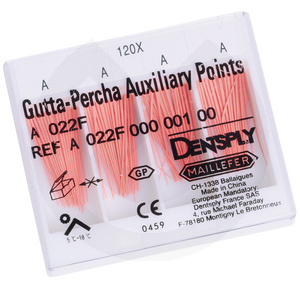 Product - PUNTAS DE GUTTAPERCHA NO ESTANDARIZADAS PIRATAS 24MM.