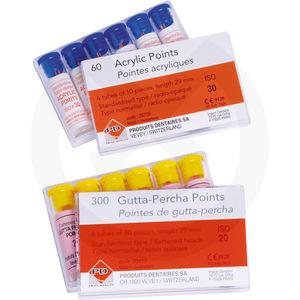 Product - PUNTAS DE GUTTAPERCHA ISO Nº 15-40 P.D.