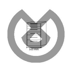 Product - MUEBLE MOVIL 500*475*810H HS 6 CAJONES