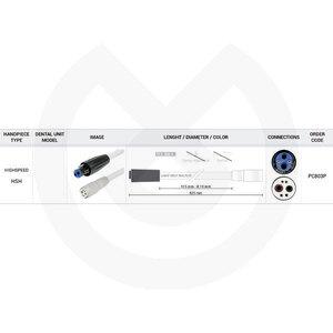 Product - MANGUERA TURBINA 825MM PLANMECA 560 OHM