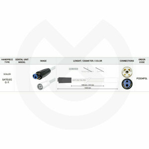 Product - MANGUERA SCALER 930MM PLAN-SATEL 120OHM