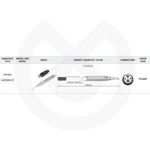 Product - MANGUERA JERINGA 910MM PLANMECA COMPLETA