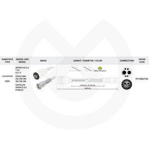 Product - MANGUERA TURBINA 1350 MM CEFLA