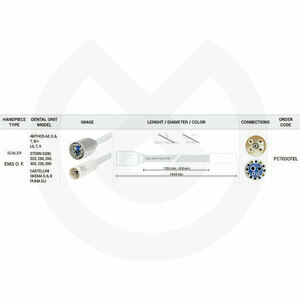 Product - MANGUERA SCALER 1350MM CEFLA-EMS FO.