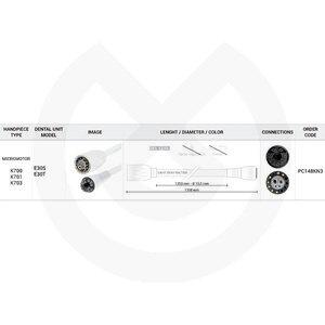 Product - MANGUERA  K700 1250 MM KAVO- 4,2KOHM