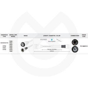 Product - MANGUERA K700 1350 MM KAVO-S/REG.SPRAY