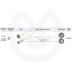 Product - MANGUERA JERINGA 1350 MM 4 FUNZIONI KAVO