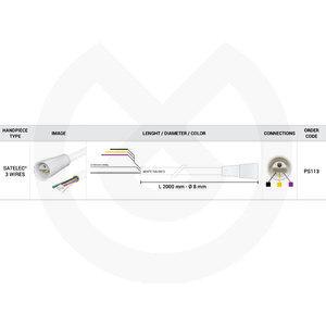 Product - MANGUERA SCALER 2000MM 3 FILI SATELEC OE