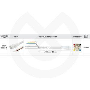 Product - MANGUERA SCALER 1850MM EMS I-PIEZON BLAN