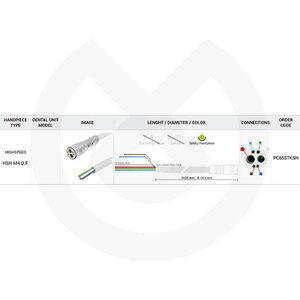 Product - MANGUERA TURBINA 1650 MM 4V ELE.OPEN END