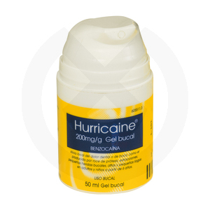 Product - ANESTESIA HURRICAINE GEL CON DOSIFICADOR