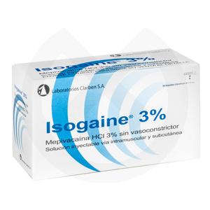 Product - ANESTESIA ISOGAINE. S.V.C. (AZUL)