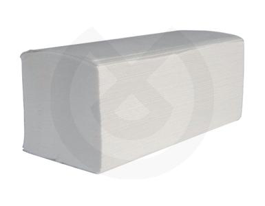 Product - TOALLA TISSU BLANCA 2 CAPAS 21X35CM.