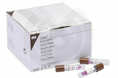 Product - ATTEST INDICADORES BIOLOGICOS 100 UDS.