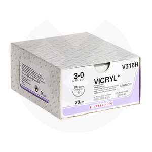 Product - SUTURAS VICRYL 3/8C DE 19MM, 45CM.
