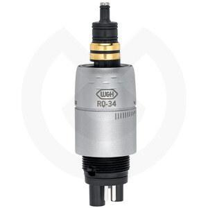 Product - ACOPLAMIENTO ROTO QUICK RQ-34 LUZ CON REGULACION DE AGUA PARA  MANGUERAS MIDWEST