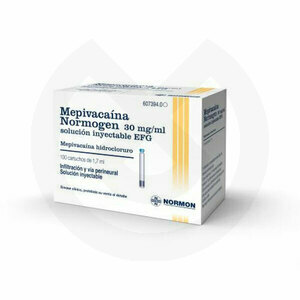Product - MEPIVACAINA NORMOGEN 30 MG/ML