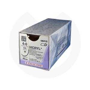 Product - SUTURA VICRYL 18531G 4/0 DA CURVA COMPUESTA - 25MM, 45CM. (VISI-BLACK)