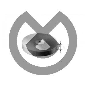 Product - PULIDOR UNIVERSAL RUEDA 9554.900.220  Ø 22mm L:3mm
