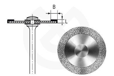 Product - DISCO HYPERFLEX DIAMANTE 911HV Ø 18mm 0,10mm L. 3mm B