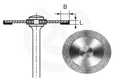 Product - DISCO HYPERFLEX DIAMANTE 911HH Ø 22mm 0,1mm L. 3mm B