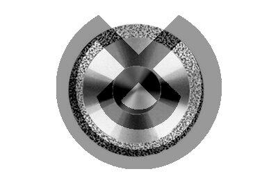 Product - DISCO DIAMANTE PM 942.104.140 Ø 14mm 0,17mm L. 1,5mm B 2 CARAS, SINTERIZADO