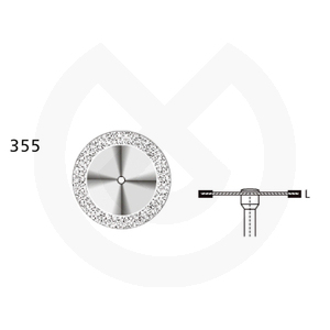 Product - DISCO DIAMANTADO SUPERFLEX 355-524-220