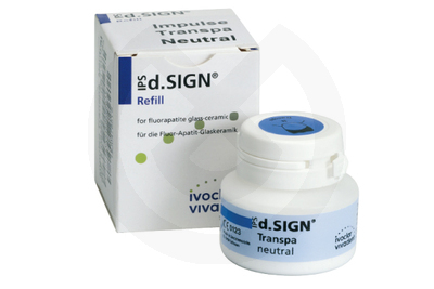 Product - IPS-D.SIGN TRANSPARENTE NEUTRAL REPOSICION 20gr.