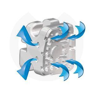 Product - BRACKETS VAPOR/ AGILITY CERAMIC ROTH .022 CASO