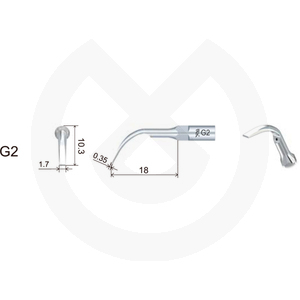 Product - INSERT DTE  PROFILAXIS COMPATIBLE   SATELEC Y NSK. GD2 (G2 NSK)