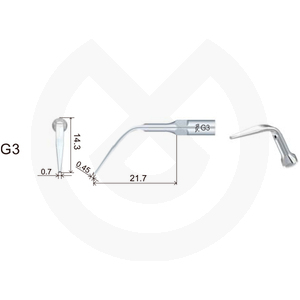 Product - INSERT DTE  PROFILAXIS COMPATIBLE   SATELEC Y NSK. GD3