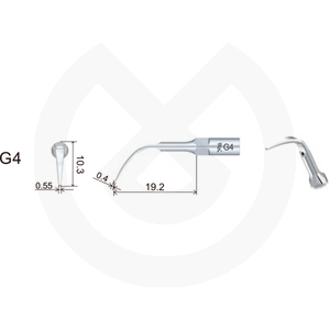 Product - INSERT DTE  PROFILAXIS COMPATIBLE   SATELEC Y NSK. GD4