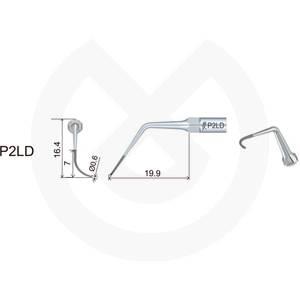 Product - INSERT DTE  PERIODONCIA COMPATIBLE   SATELEC Y NSK. PD2LD (H2R ACTEONA)
