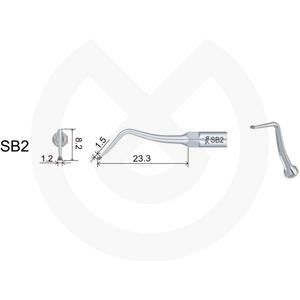 Product - INSERT DTE  PROTESIS/ESTETICA COMPATIBLE SATELEC/NSK. SBD2 (EX2 ACTEON/G65D NSK