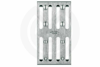 Product - SATIN STEEL SOPORTE PARA 8 CLAMPS
