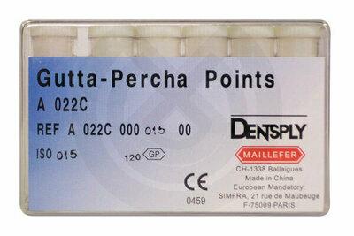 Product - PUNTAS DE GUTTAPERCHA Nº 10-120 MAILLEFER