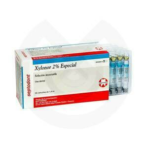 Product - ANESTESIA XYLONOR 2% 1:80.000 (AZUL)