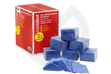 Product - SERVILLETAS AZULES 2 CAPAS