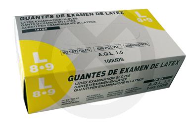 Product - GUANTES DE LÁTEX SIN POLVO