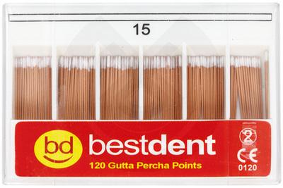 Product - PUNTAS DE GUTTAPERCHA ISO Nº 15-80 BESTDENT