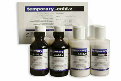 Product - KIT TEMPORARY COLD-V DENTINE+A3,5