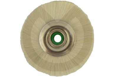 Product - CEPILLO 48mm PELO BLANCO DE CABRA NUCLEO METAL
