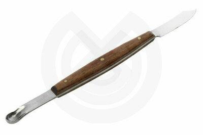 Product - CUCHILLO DE CERA. Avec cuill re. 17 cm.