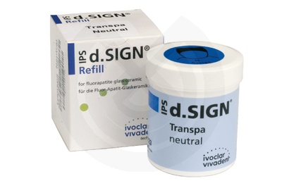 Product - IPS-D.SIGN TRANSPARENTE NEUTRAL REPOSICION 100gr.