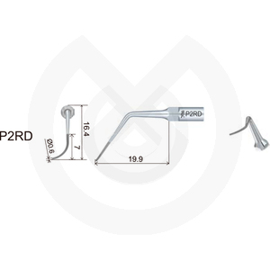 Product - INSERT DTE  PERIODONCIA COMPATIBLE   SATELEC Y NSK. PD2RD (H2L ACTEON)