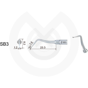 Product - INSERT DTE  PROTESIS/ESTETICA COMPATIBLE SATELEC/NSK. SBD3 (EX3 ACTEON/G66D NSK